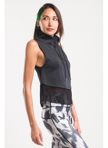 Slazenger Slazenger PUR SUIT Kadın T-Shirt  Siyah